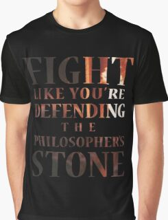 Like You're Defending the Philosopher's Stone. Graphic T-Shirt