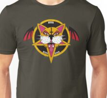 Cat Bat Pentagram Unisex T-Shirt