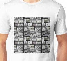 Vintage Swimmers - Tiled Format  Unisex T-Shirt