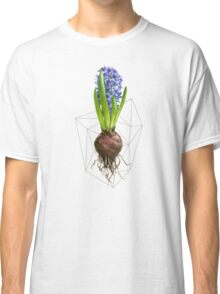 Blue Hyacinth Hydroponics (Tryptic 1/3) Classic T-Shirt