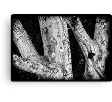 Punk Rock Tree Canvas Print