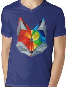 Third Eye Fox Mens V-Neck T-Shirt