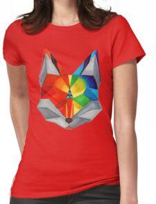 Third Eye Fox Womens Fitted T-Shirt