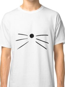 Cat Whiskers Classic T-Shirt