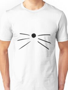 Cat Whiskers Unisex T-Shirt