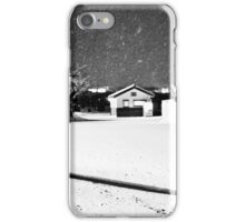 Snow storm shadow iPhone Case/Skin