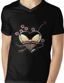 Black Panties Mens V-Neck T-Shirt