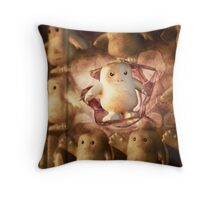 Adipose Attitude Throw Pillow