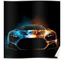 SPORT SPARKLING CAR Poster