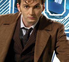 Doctor 10th  Sticker