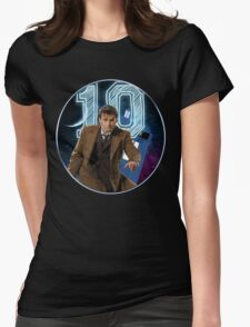 Doctor 10th  Womens Fitted T-Shirt