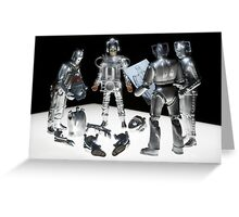 How many Cybermen... Greeting Card