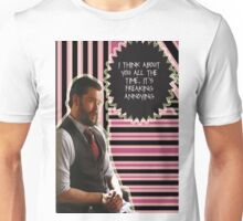 Frank Delfino [I think about you all the time] Unisex T-Shirt