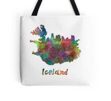 Iceland in watercolor Tote Bag