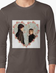 Johnlock Hearted Long Sleeve T-Shirt