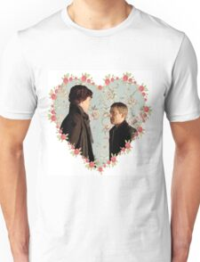Johnlock Hearted Unisex T-Shirt