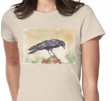 The Way of the Crow Womens Fitted T-Shirt