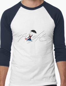Flight Poppins Men's Baseball ¾ T-Shirt