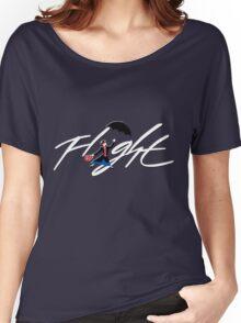 Flight Poppins Women's Relaxed Fit T-Shirt