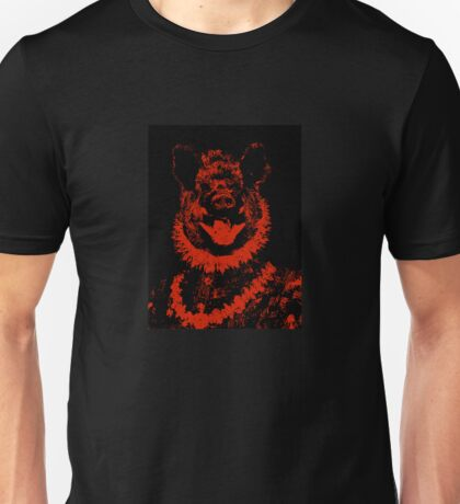 Duke of Boars- black and red digital collage Unisex T-Shirt