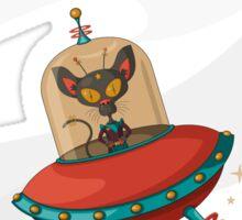 Galaxy Cat - Lost in Space Sticker
