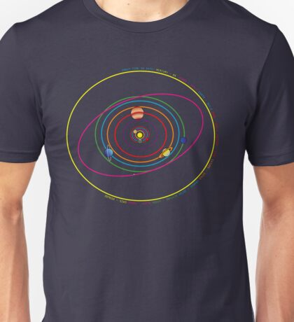 Solar System 2 Unisex T-Shirt