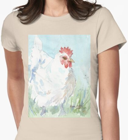 Kiep and Fowl Pox Womens Fitted T-Shirt