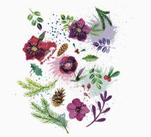 Floral Kids Tee