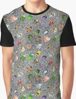 Monsters Graphic T-Shirt