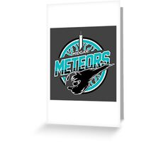 Midgar Meteors - Round 2 Greeting Card