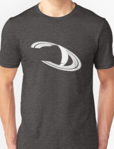 White Saturn Unisex T-Shirt
