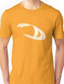 White Saturn Unisex T-Shirt