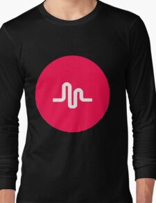 musically logo Long Sleeve T-Shirt