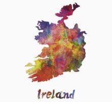 Ireland in watercolor One Piece - Short Sleeve