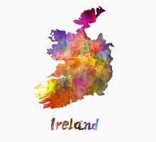 Ireland in watercolor Unisex T-Shirt