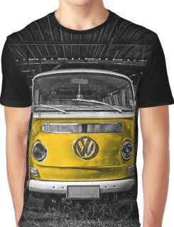 Yellow combi Volkswagen Graphic T-Shirt