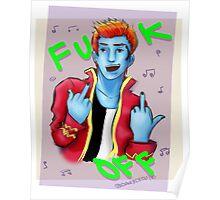 Holt Hyde - F*CK OFF! Poster