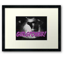 Girlspower Framed Print