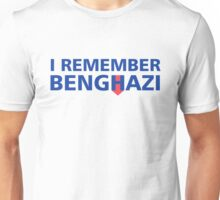 I Remember Benghazi Unisex T-Shirt