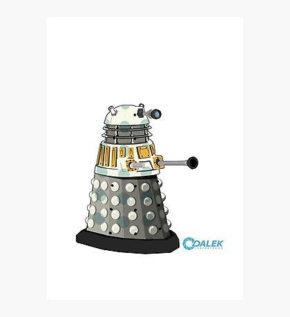 Dalek Big dot Photographic Print