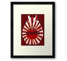 HEY JAPAN! Totoro Framed Print