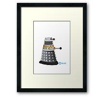spring Dalek Framed Print