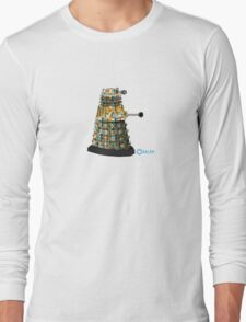 Dalek dot Long Sleeve T-Shirt