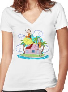 Dimensions Holidays Women's Fitted V-Neck T-Shirt