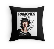 """I wanna be sedated"" Throw Pillow"