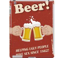 Beer Poster iPad Case/Skin