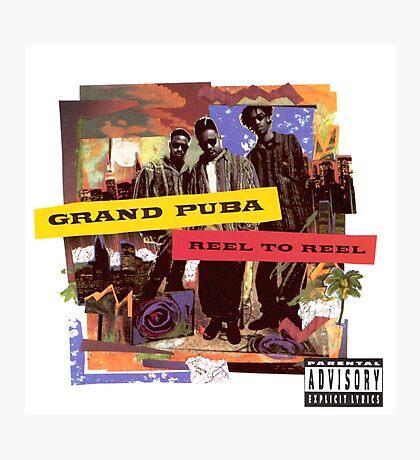 Grand Puba - Reel to Reel Photographic Print