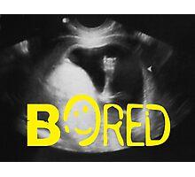 Bored - Sherlock Photographic Print