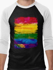 abstract pride Men's Baseball ¾ T-Shirt