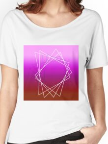 Geometric sunset Women's Relaxed Fit T-Shirt
